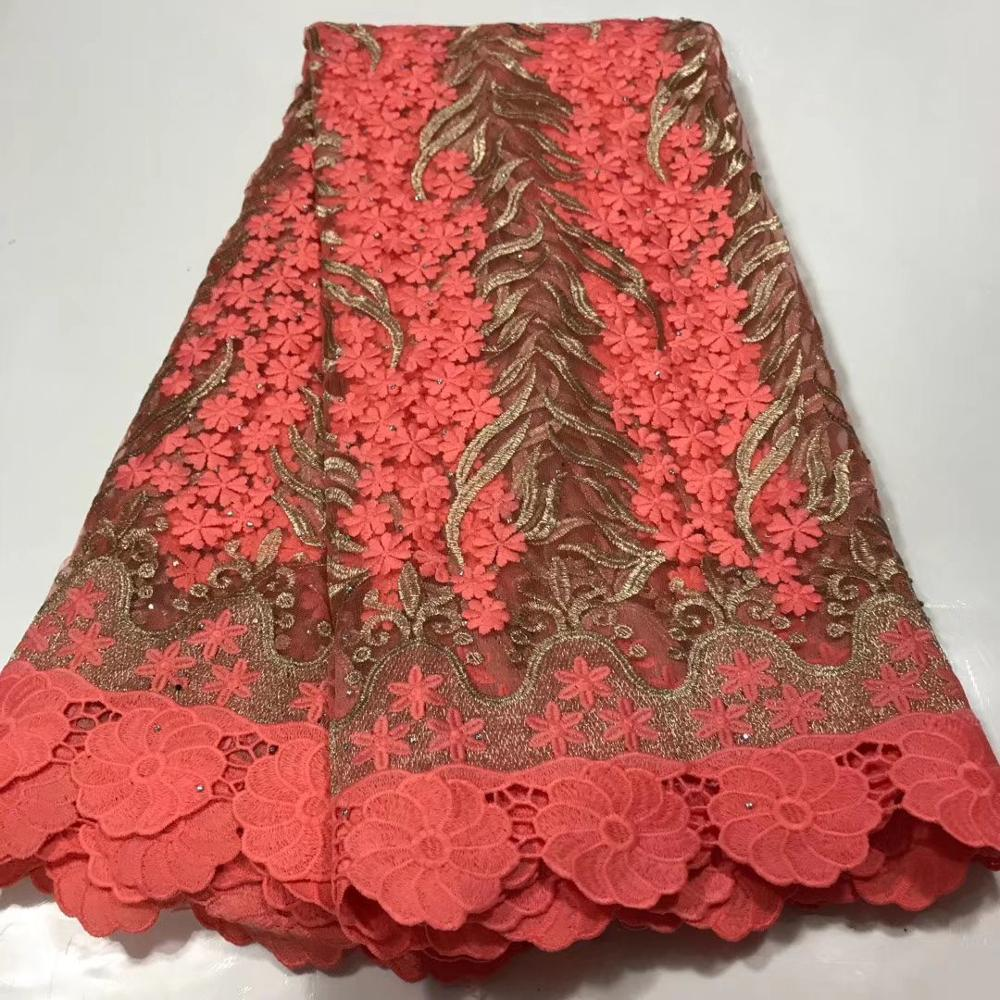 Pink Mesh French Tulle Lace, African Ankara Swiss Voile Lace Fabrics For Wedding Dress 2020 Latest Nigerian Lace Material