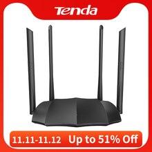 Tenda маршрутизатор AC8 гигабитная версия 2,4 ГГц Wi Fi 5 ГГц 1167 Мбит/с Wi Fi ретранслятор 128MB DDR3 с высоким коэффициентом усиления 4 антенны Сетевой удлинитель