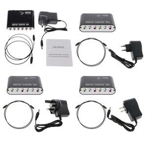 Image 5 - Convertisseur SPDIF optique 5.1 décodeur AC3 DTS Surround son amplificateur 3.5 AUX Coaxial numérique à analogique 6 RCA HD Audio Rush