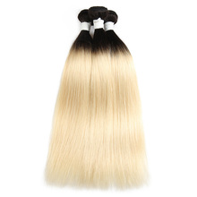Brazilian Human Straight Hair Extensions Body Wave Clasp Weave Bundles