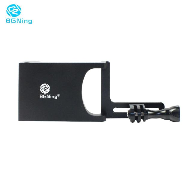 BGNing Aluminum Gimbal Switch Mount Adapter Plate for DJI /MOZA Action Stabilizer Selfie Handle for GOPRO 8 Sports Camera Holder