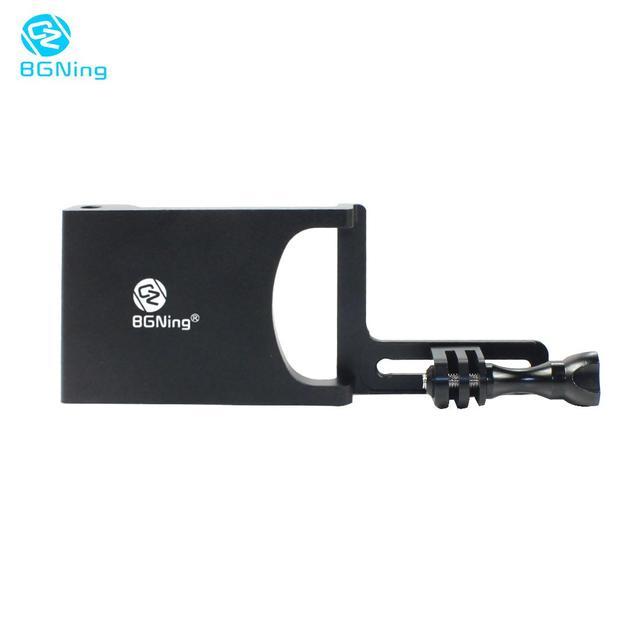 BGNing aluminium cardan interrupteur montage adaptateur plaque pour DJI /MOZA Action stabilisateur Selfie poignée pour GOPRO 8 sport support de caméra