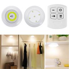 Możliwość przyciemniania i timera LED pod szafką COB lampka nocna na baterie szafy światła z pilotem do szafy kuchnia sypialnia schody tanie tanio 5000h Suche baterii Przełącznik COB LED SMD2835 Tape Stick on Tap or remote control Up to 15 feet