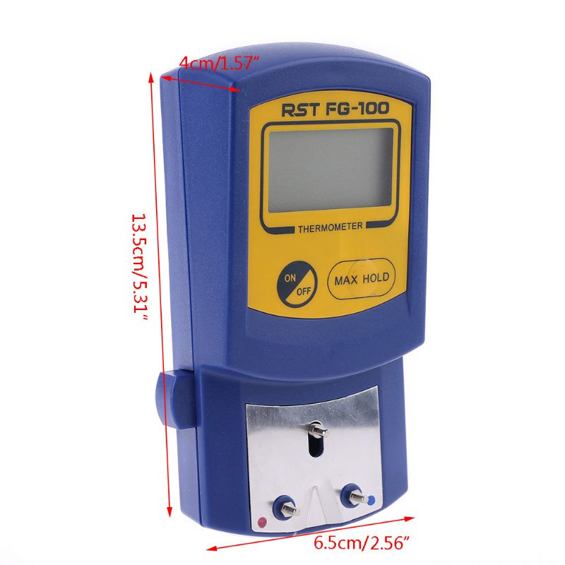 Tip Soldering Iron Temperature Tester <font><b>FG</b></font>-<font><b>100</b></font> <font><b>Thermometer</b></font> Used for Welding Iron 77UD image