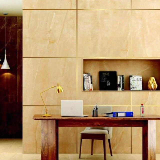 50x0.05m 방수 골드 실버 DIY 구리 호일 스트립 홈 장식 갭 씰링 호일 테이프 벽 스티커 바닥 솔기 스티커