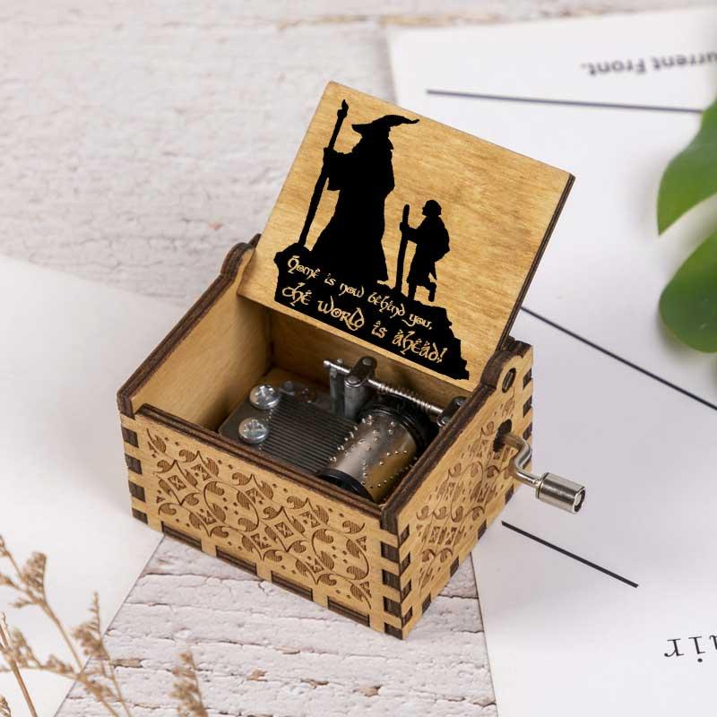 Музыкальная шкатулка «Властелин темы», шкатулка с кольцами для мужчин и женщин, подарок для общения, уникальный подарок, персонализированн...