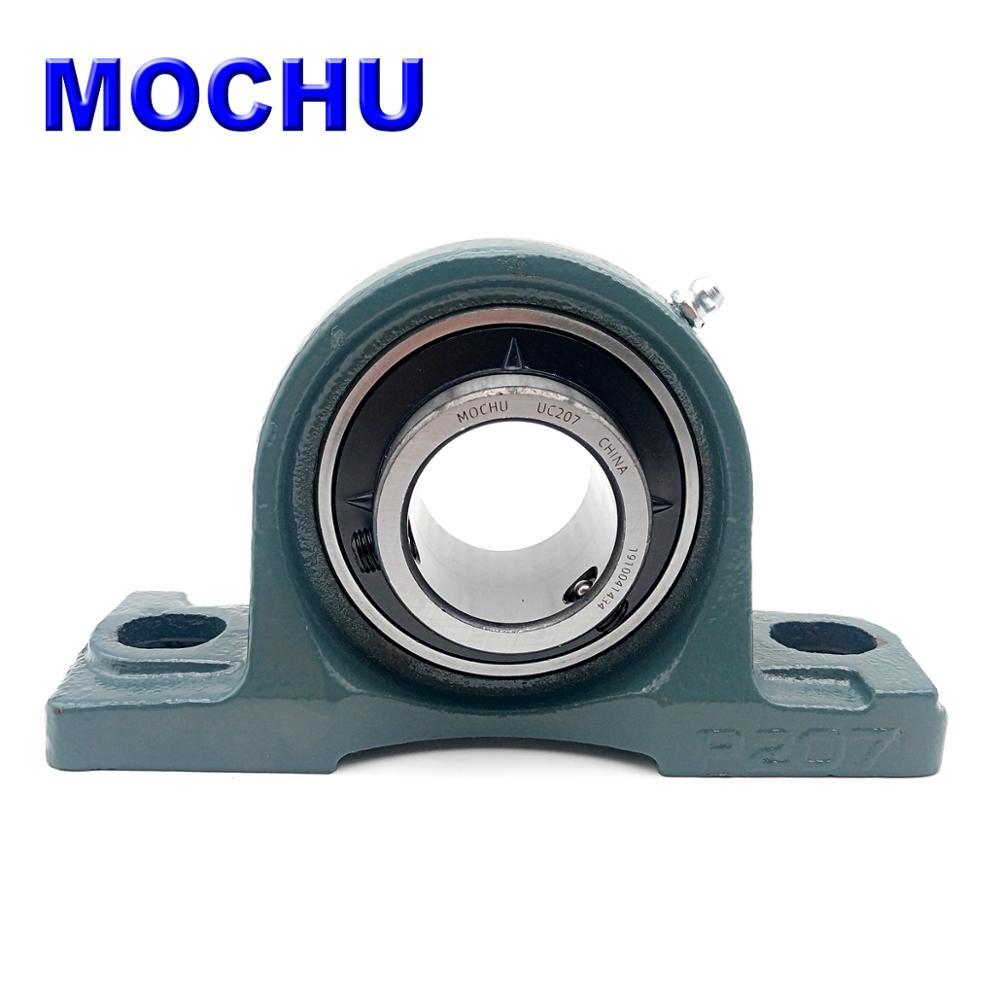 UCP207 UCP207-20 UCP207-21 UCP207-22 UCP207-23 UC207 P207 Cast Iron Plummer Block Housing Units Ball Bearing