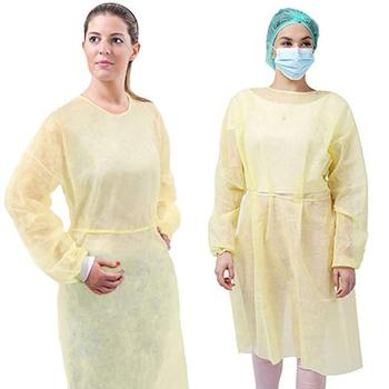 Disposable Hazmat Protective Suit Isolation Gown Protection Clothing Full Body Coverall Clothes One Size Waterproof disposable protective clothing waterproof coverall industrial epidemic spray pesticide chemical protection asbestos work jacke