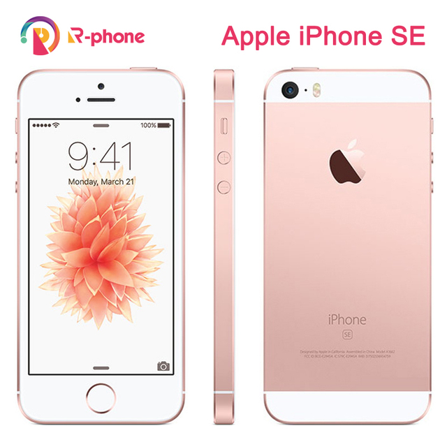 Original Apple iPhone SE Used 99% New 4G LTE Unlocked Mobile Phone 16GB 32GB 64GB 12MP Wifi Cellphones 1