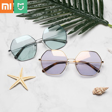 XIAOMI TS Geometry / Cat Eye Sunglasses UV-Proof Light Nylon Polarized Sun Mirror Lenses Sunglasses Outdoor Massage Relaxation original xiaomi mijia turok steinhardt ts nylon polarized stainless sunglasses colorful retro 100% uv proof for travel man woman