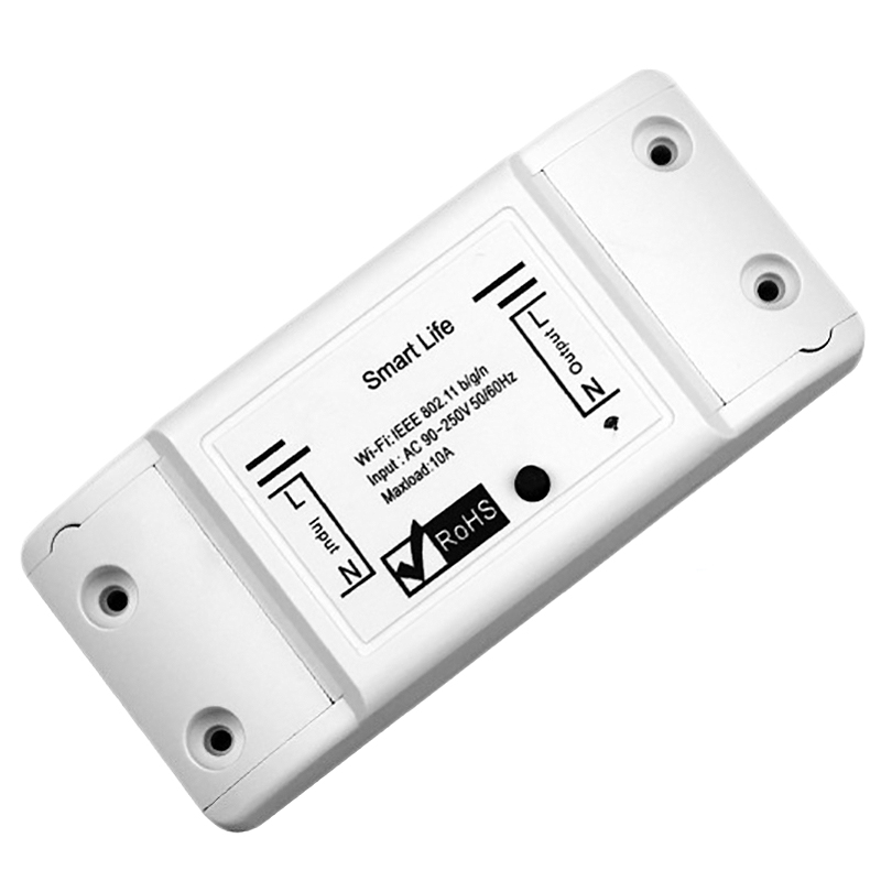 Smart Wifi Switch Relay Tuya Smart Life App Works For Google Home Mini Alexa Ifttt Smart Home Automation Module|Home Automation Modules|Consumer Electronics - title=