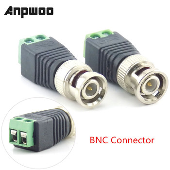 1/2/10pcs 12V DC Male Female Plug BNC Connector CCTV Power Cable 2.1 x 5.5mm Adapter for Led Strip Light - discount item  25% OFF Transmission & Cables