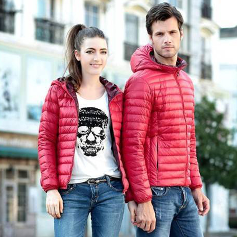 Solid Ultra Light Hooded Down Coats Women Casual Long Sleeve Warm Plus Size Down Jackets Female Parka Outerwear Casaco Feminino