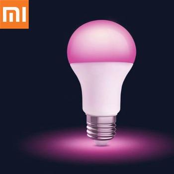 Original Xiaomi MIjia Smart Home LED Color Bulb E27 Light 1880-7000K Wifi Mi Home APP Remote Control LED Lamp