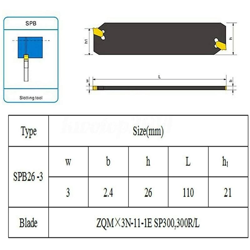 ferramenta de corte com 10 pces GTN-3