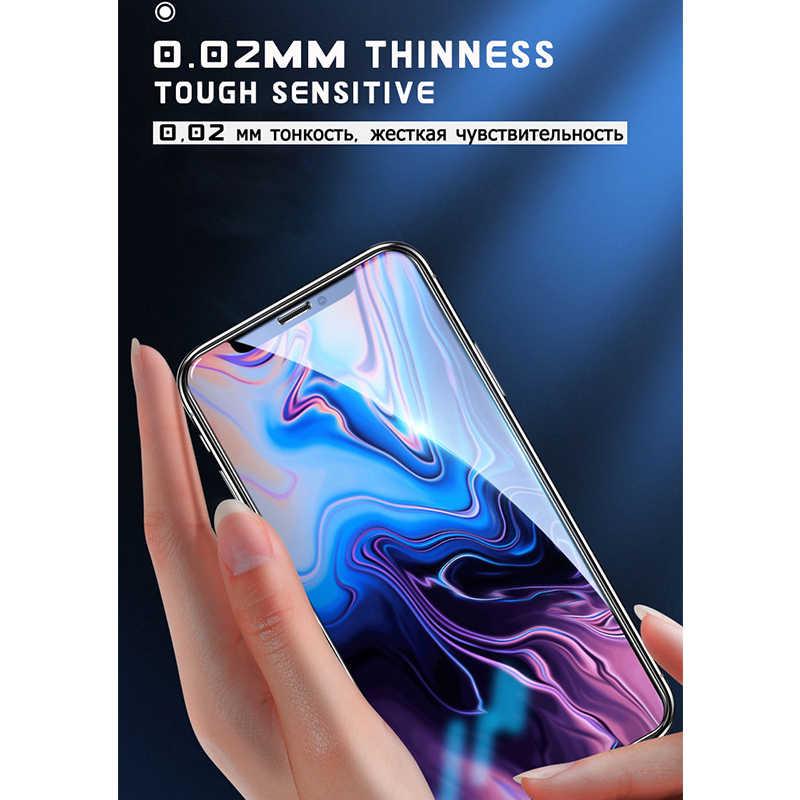21d capa completa de vidro temperado para iphone 11 pro 6s plus protetor de tela para iphone 7 8 plus 11 pro max película de vidro de proteção