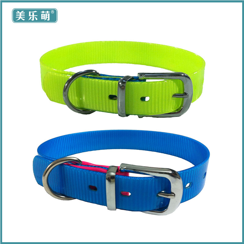 New Style Hot Sales Pet Supplies TPU Dog Daily Use Pet Collar Traction Rope