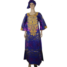 MDสตรีชุดแอฟริกันDashiki Bazin Richeยาวชุดแอฟริกันพิมพ์เย็บปักถักร้อยดอกไม้ชุดแอฟริกาใต้Party