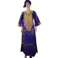 MD femmes robes africaines dashiki bazin riche longue robe traditionnelle africaine impression broderie fleurs robe afrique du sud fête