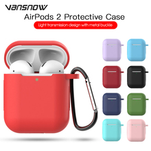 3PCS Accessories for Apple AirPods 2 Case Wireless Bluetooth Headphone Air Pods Protective AirPod