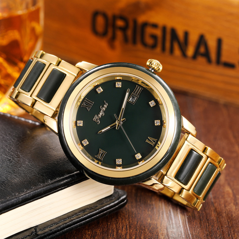 2019 Rushed Watches Trill Hot Style Male Manufacturers Custom-made Wholesale Hetian Jade Quartz A Undertakes