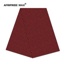 2019 new africa print whole sale batik cotton fabric AFRIPRIDE 100% high quality ankara for dress curtain A18F0513