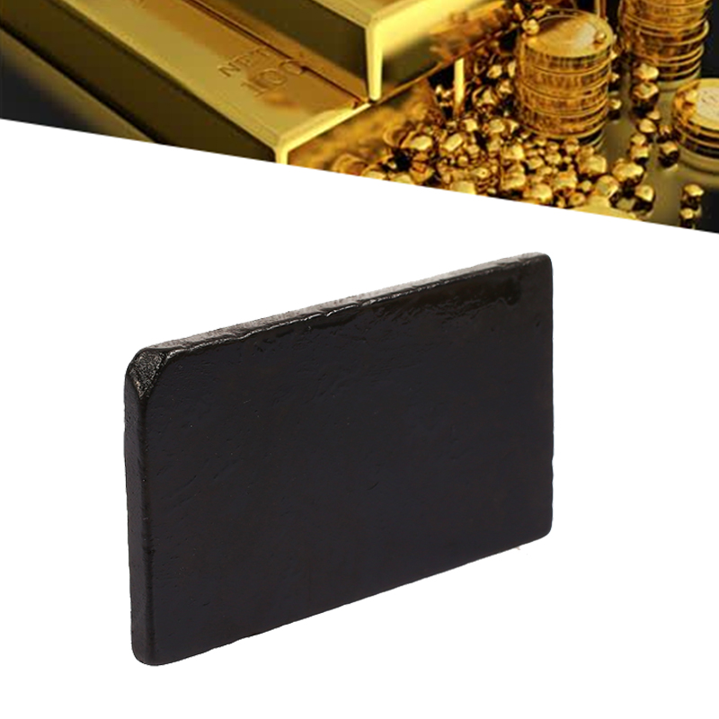 Gold Testing Tools Meteorite Slate Jewelry Tester Tool Identification Rock Black Durable Instrument Gold Test Stone Gemstone