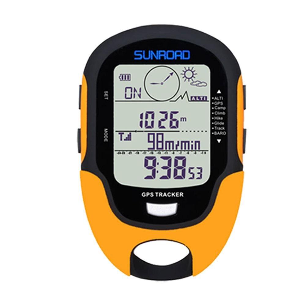 Gps навигационный трекер спортивные цифровые часы армейские часы военные альтиметр барометр компас локатор