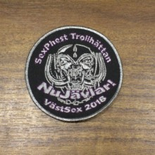 Custom Embroidered Patch applique iron-on patches 2