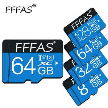 Hurtowa karta Micro SD 8G 16G 32G 64G 128G karta pamięci Flash TF karta do telefonu z Mini SDHC SDXC klasa 10 z retail pckage tanie i dobre opinie NoEnName_Null yhtr Tf micro sd card