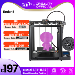 Image 1 - CREALITY 3D Printer Ender 5 Dual Y axis Motors Magnetic Build Plate Power off Resume Printing Masks Enclosed Structure