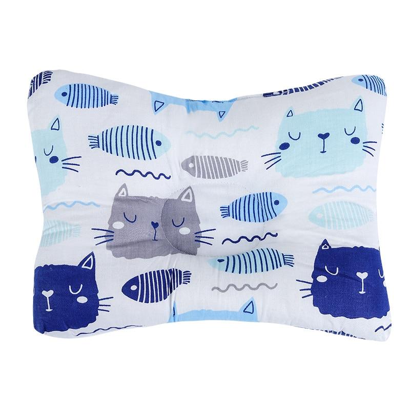 [Simfamily] новая Брендовая детская подушка для новорожденных, поддержка сна, вогнутая подушка, подушка для малышей, подушка для детей с плоской головкой, детская подушка - Цвет: NO28