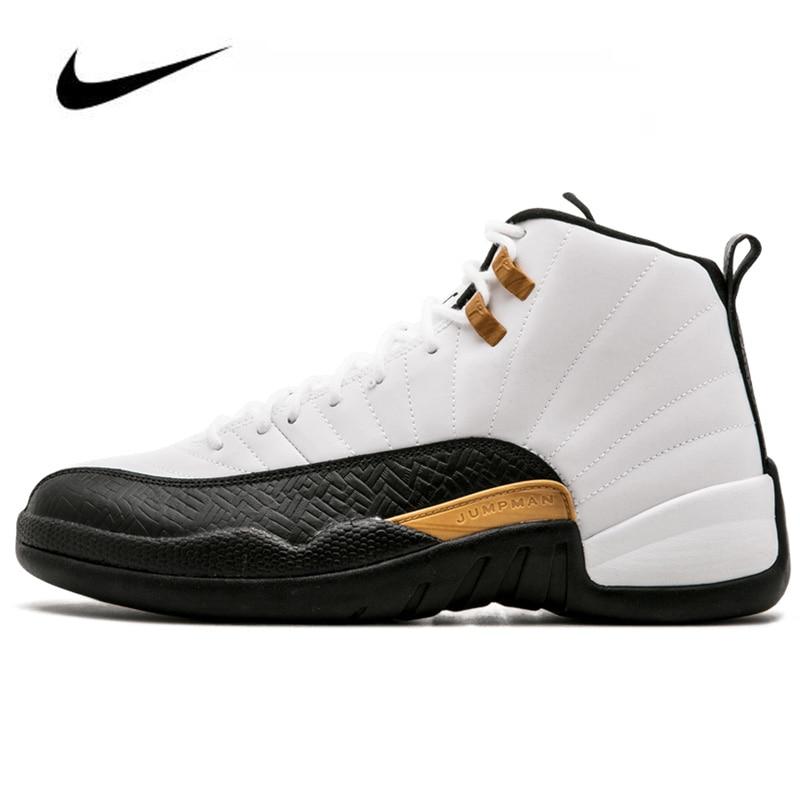 Women Sneakers Nike Air Jordan 12 Retro Chinese New Year Men's Jordan Shoes Basketball Shoes High-top Jordan Shoes 881427-122