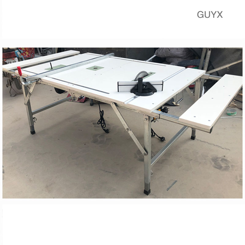 Woodworking Saw Table Small Multi-function Push Table Saw Precision Operation Table Portable Folding Saw Table Decoration Woodwo