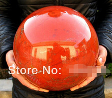 free shipping NATURAL red jasper quartz crystal sphere ball Afric(China)
