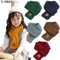 Зимние Детские шарфы, теплый шарф для маленьких мальчиков и девочек, однотонный мягкий шарф для детей, Детский воротник, эластичное кольцо н...