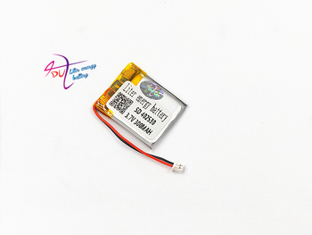 402530 3.7V 300mAh Lithium Polymer LiPo Rechargeable Battery with JST 1.5mm 2 pin For Mp3 Camera bluetooth GPS electronic part