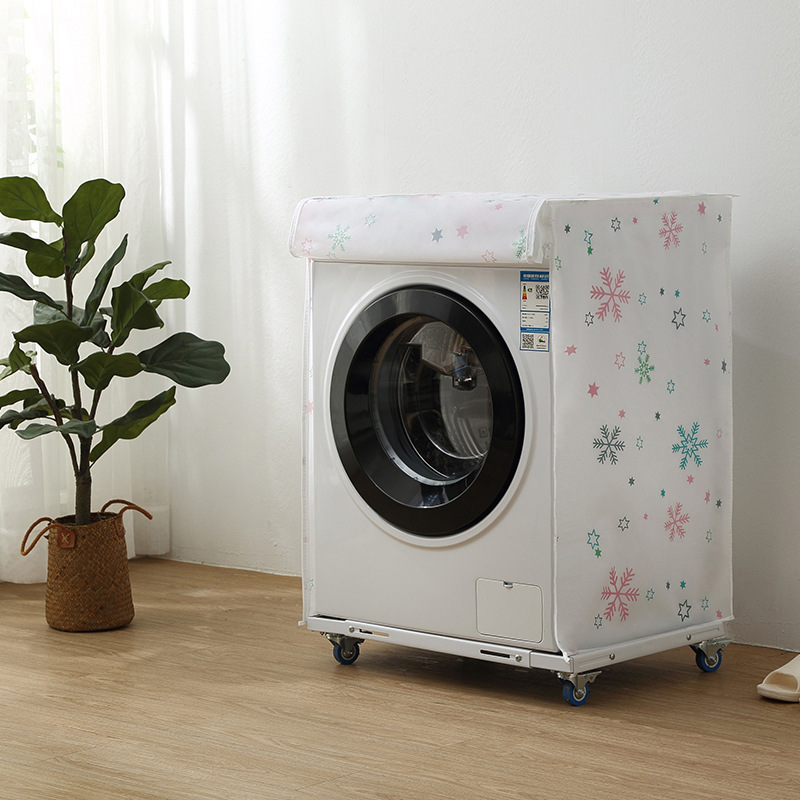 Household Washing Machine Cover Organizer Protective Dust Cover Washer Sunscreen Laundry Dryer Waterproof Dust Proof Case