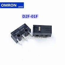 Frete Grátis D2F-01F 2pcs JAPÃO OMRON Rato Micro Interruptor Botão Do Mouse Adequado para Steelseries Rival 300 310 Logitech G304 g305