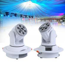 цена на Honhill LED Moving Head SPOT / WASH Washlight Professional Led DMX Stage Light 2 In 1 Gobo DMX RGBW Stage Light Club Party