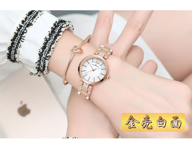 pulseira relógios feminino meninas vestido relógio de