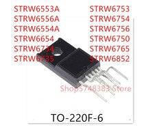10PCS STRW6553A STRW6556A STRW6554A STRW6654 STRW6734 STRW6735 STRW6753 STRW6754 STRW6756 STRW6750 STRW6765 STRW6852 TO-220F-6