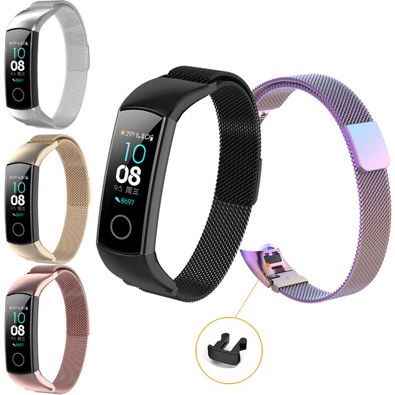 Milanese Bracelet For Huawei Honor Band 4 Standard Version Smart Watch Band For Honor Band 4 5 Wrist Strap Smart Accessories