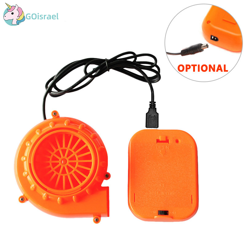 Inflatable Costume Fan With Battery Case Accessories Fits All Of Our Inflatable Costume Powered By AA Battery Air Pump Cosplay