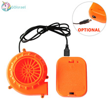 Inflatable costume Fan with Battery case Accessories Fits All of our Costume Powered by AA Air Pump Cosplay
