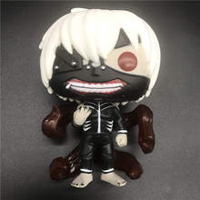 Anime Tokyo Ghoul Figure 61#10cm Q version Kaneki Ken model toy Action Figure Collection Toys Friend Gift no box anime tokyo ghoul figure toys mask ken kaneki melanism pvc action figure collection model toy gift