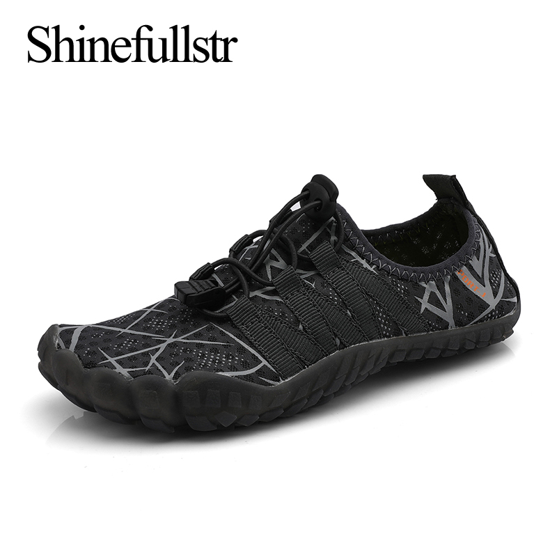 Summer Kids Aqua Shoes Wading Water Barefoot Aquashoes Swimming Watershoes To The Beach 5 Finger Sneakers Chaussure Plage Enfant