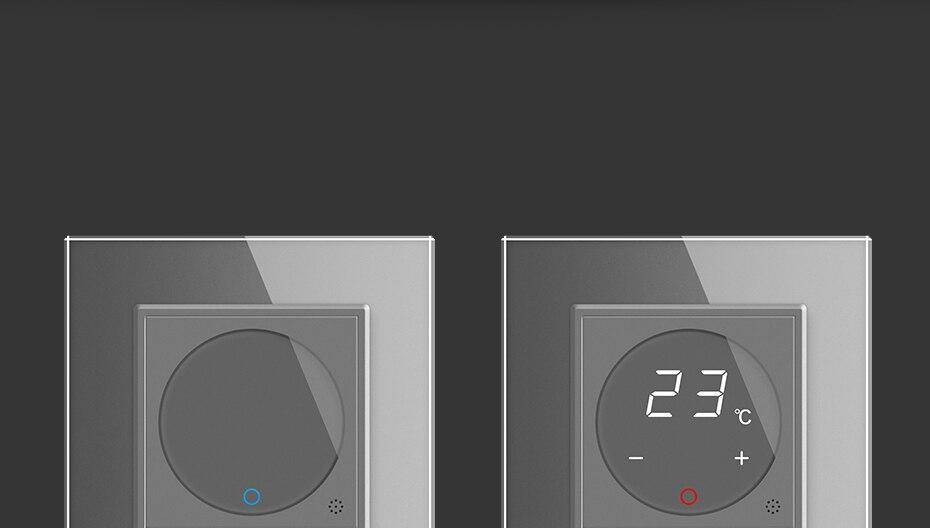 Termostato inteligente de calefacción de suelo 4 colores
