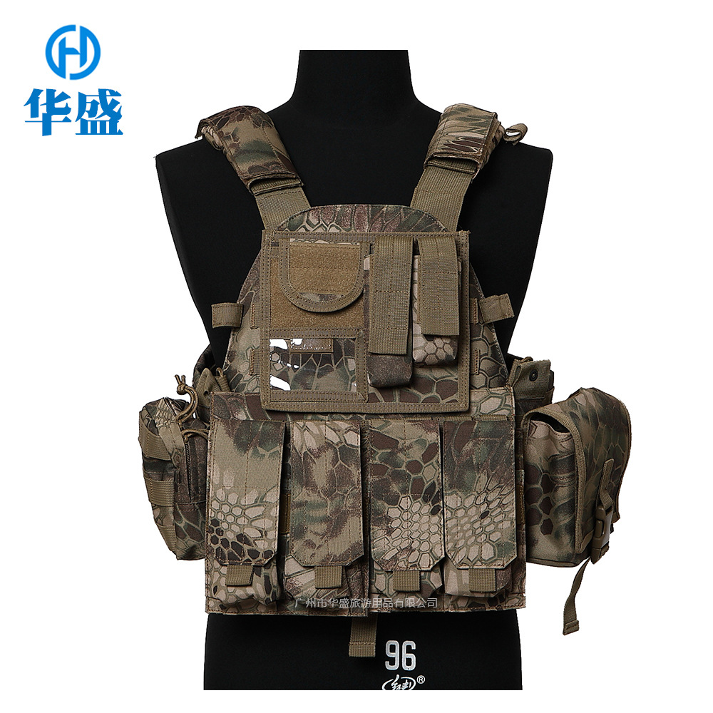 Manufacturers Direct Selling 900D Super Wear-Resistant Engraved Version Field Operations 6094 Tactical Vest CS Special Forces Am