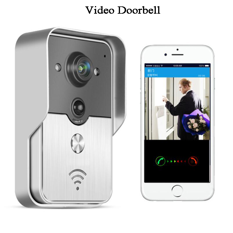 IP Wireless Doorbell Video Intercom Phone Remote Control Wifi Camera LAN PIR Sensor Alarm Home Apartment Loft Smart Doorbell